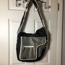 Jj Cole Diaper Bag Daddy Man Go Bag Black Grey Zip Close