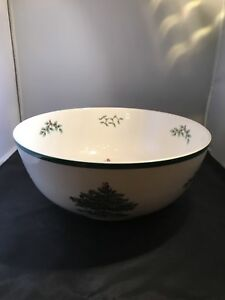 Spode Christmas Tree Serving Bowl.