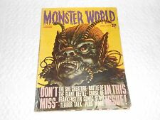 MONSTER WORLD APRIL No. 3 1965