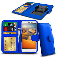 Clip On PU Leather Flip Wallet Book Case Cover For BenQ F5