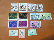 Ruanda Olympia Lot  von 1964 , 1968 , 1972 postfrisch