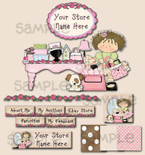 Lil' Pink Boutique Table COMPLETE EBAY STORE DESIGN