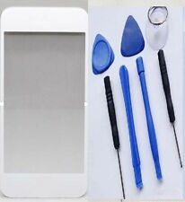 Replacement Front Lens Screen Glass Cover iPhone 4S 4 white free Tools Kit