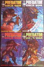 PREDATOR COLD WAR #1-4 Full Set! Warrior Xenomorphs from the Movies! Dark Horse