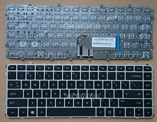 for HP Envy Sleekbook Ultrabook 4-1000 6-1000 Keyboard US Frame for backlit Silv