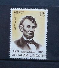 INDIA 1965 Abraham Lincoln Death Centenary. Set of 1. Mint Never Hinged. SG499.