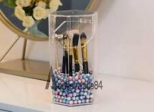 Dust-Proof Transparent Makeup Brushes Holder Organizer Box Cosmetic Accessories