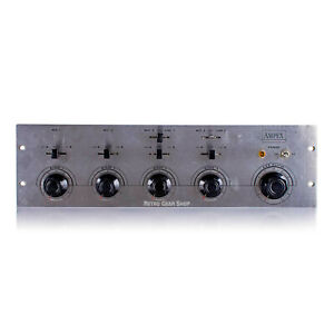 Ampex MX-35 4 Channel Tube Mixer Mic / Line Preamp MX35 Rare Vintage Serviced