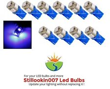 10 - Landscape light bulbs, BLUE 5LED. Replaces 12v T5 Malibu bulbs