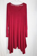 cocon.commerz PRIVATSACHEN GOTTLEICHT Kleid aus Bambusjersey in rot Größe 3