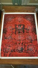 THE WHITE STRIPES Rob Jones JACK WHITE Aluminum Collage Poster Print THIRD MAN