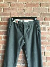 New Incotex Archive Men's Wool/Mohair Pants Trousers Size 34 Measured 36x35 Gray