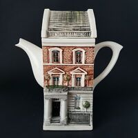 Richard Parrington Ceramic Town House Teapot by Hazle Boyles Tea Pots :A10