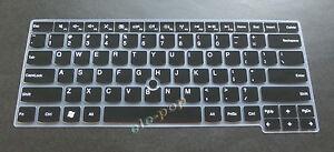 "Keyboard Cover Skin for Lenovo ThinkPad X1 Carbon Gen 8 14"", X1 Yoga Gen 5 14"""