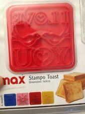"""Stampo per Toast - Scrive sul Toast """"I Love You"""" - 9x9cm - Max Casa - Nuovo"""