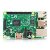 Raspberry Pi 3 Model B Quad Core 1.2GHz 64 bit CPU wifi & bluetooth Element 14