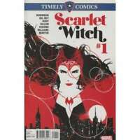 Timely Comics: Scarlet Witch #1 in Near Mint + condition. Marvel comics [*5n]