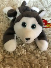 Ty Beanie Baby Nanook Retired 1996 Mint Condition w/ Hang Tag Errors