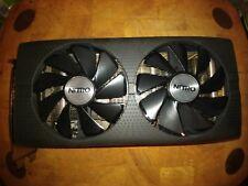 SAPPHIRE NITRO RADEON RX 480 OC + 4GB GDDR 5 AMD tarjeta gráfica de juegos