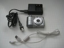 Canon PowerShot A1100 Is 12.1Mp Digital Camera - Silver w/ Charger & Usb Cable
