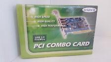 Bright PCI Combo Card USB 2.0 + Firewire 1394