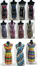 WHOLESALE LOT CLOTHING 200 WOMENS MIXED DRESSES SUMMER TOPS CLUBWEAR S M L XL