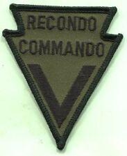 MACV Recondo Commando Patch OD Subdued