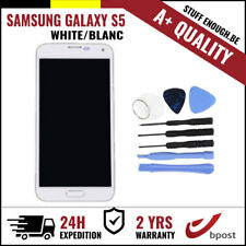A+ LCD TOUCH SCREEN/SCHERM/ÉCRAN WHITE + TOOLS FOR SAMSUNG GALAXY S5 I9600