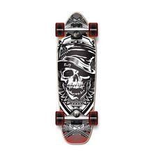 Skull series GRAPHIC SKULL HAT Complete Longboard Mini Cruiser / BANANA Cruiser