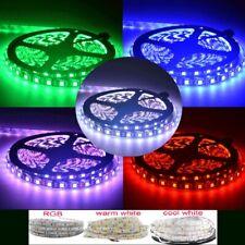 Hot DC12V 1-5M SMD 5050 RGB white Waterproof 300LED Flexible 3M Tape Strip Light