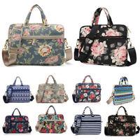 """Canvas 11""""13""""14""""15""""15.6"""" Laptop Handle Bag Shoulder Pouch Case For Macbook Dell"""