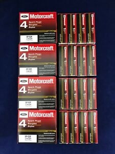 Set of 16: Genuine Motorcraft Ford Double Platinum Spark Plugs SP-526 CYFS12FP