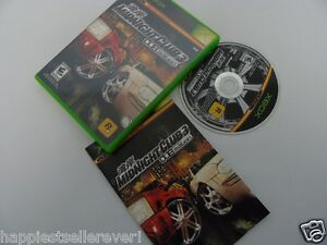 Midnight Club 3 Complete Original XBOX 1 Video Game System DISK FLAWLESS