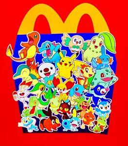 2021 Pokémon 79 CARD LOT 25th McDonald's PIKACHU SQUIRTLE CHARMANDER BULBASAUR