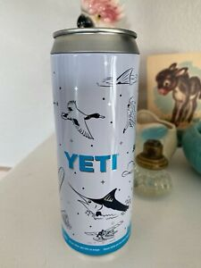 Yeti Slim Can Colster Insert Bank With Outdoor Fishing & Hunting Graphics