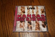 Live: Dust in the Wind by Kansas (CD, Apr-1997, CEMA Special Markets) New