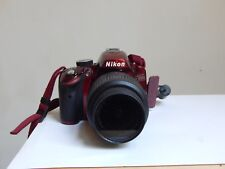 Nikon D3200 24.2 MP Digital SLR Camera -Red (Kit w/ AF-S DX VR 18-55mm)