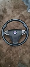 SAAB 9-3 93 2003-2006 GENUINE UPGRADED LEATHER SPORT STEERING WHEEL