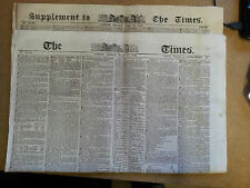 THE TIMES LONDON FRIDAY JULY 16 1852 PLUS SUPPLEMENT - lots of election news