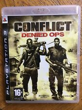 Conflict Denied Ops (unsealed) - PS3 UK Release New!