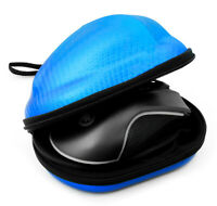 Carbon Fiber Blue Gaming Mouse Travel Case Fits the Final Mouse Air58 Ninja