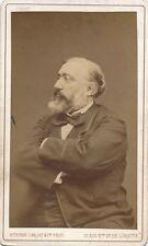 L. Gambetta papier albuminé, CDV, vers 1880 Photographe : Carjat