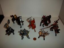 Papo Medievial Fantasy Figure Lot,Horse,Knight,Tower of Doom Castle,Schleich,ELC