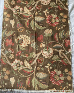 Vintage Mid Century Fabric P kaufmann 31 X 55 Inches Upholstery