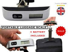 Portable Digital Luggage Weight Hand Carry Scale - up to 50kg - battery included