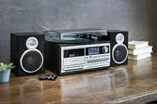 Kompaktanlage Musikanlage DAB+ Encoding Plattenspieler Usb Kassette CD RADIO Sil