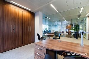 Glass partition in London (with installation)