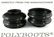 2x Polyboots Track Control Arm and Ball Joint Boots 22x44x32 mm A-Arm Dust Boots