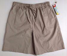 NWT $28 JASMINE K. Woman's Beige Casual Shorts, Slant Pockets, Size Medium