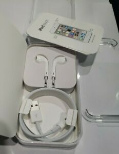 Apple iPod Touch 6 Case + Lightning Cable + Wall Charger + Headphones + Decals